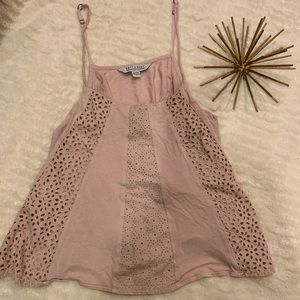 This Like New American Eagle Soft & Sexy Pink Tank